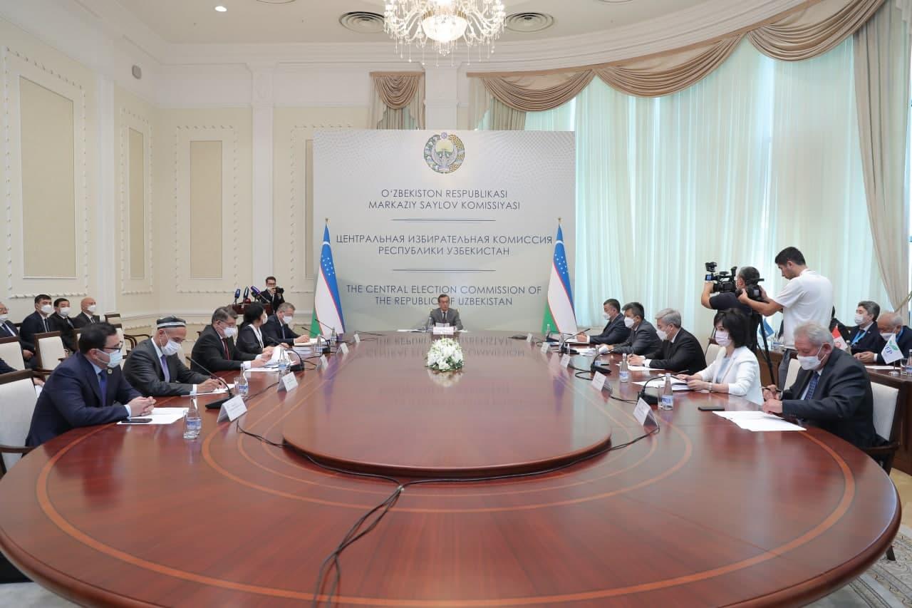 Очередное заседание Центральной избирательной комиссии